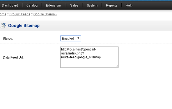 google sitemap enable - PHP Cluster