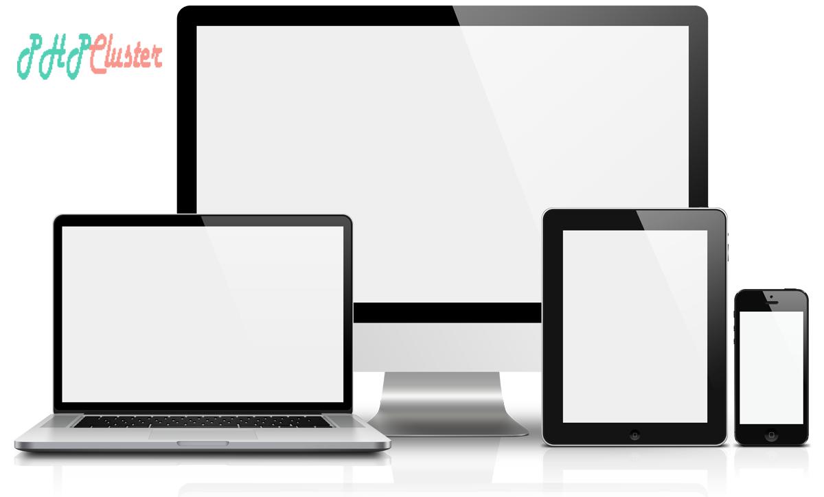 responsive design - PHPCluster