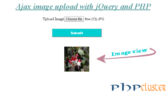 Ajax image upload with jQuery and PHP